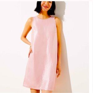 Loft Pink Shimmer Dress